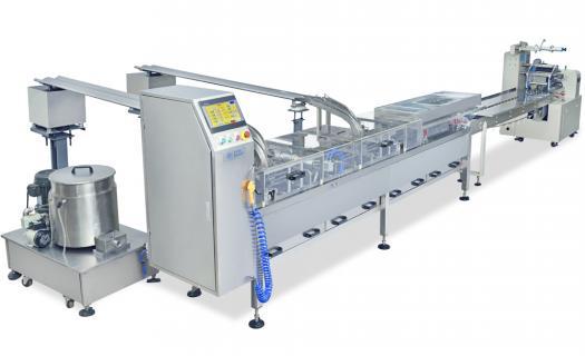 EVERSMART Sandwiching Machine With Wrapping Line