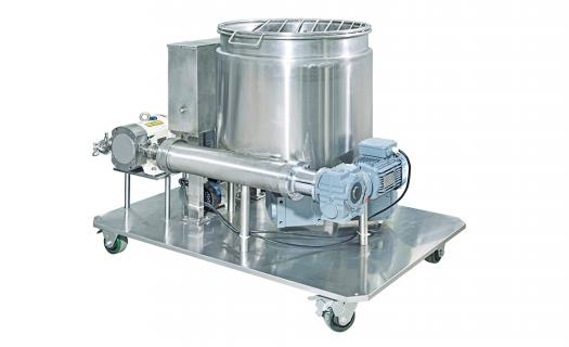 Equipment EverSmart cream hopper for biscuit sandwiching produced by EverSmart