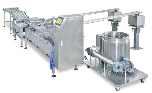Double Row Biscuit Sandwiching Creaming Machine