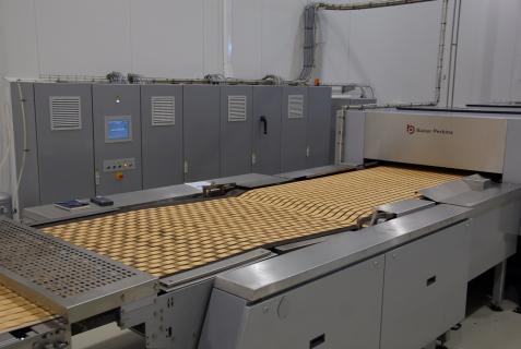 Equipment TruBake Oven Range produced by Baker Perkins Ltd
