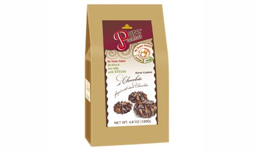 Shortcake «With Chocolate in Chocolate Glaze» 130 g