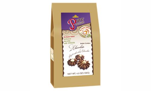 Shortcake «With Chocolate in White Glaze» 130 g