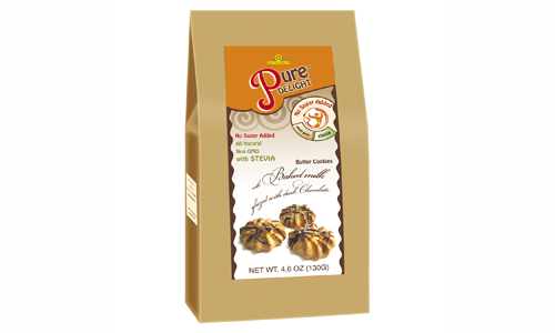 Shortcake «With Baked Milk in Chocolate Glaze» 130 g