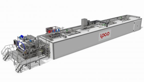 Chocolate cooler: Chip & Chunk moulding line CCM 1500