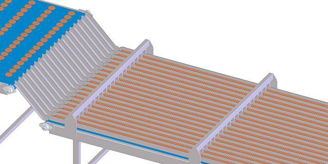 Equipment Stacker Belts produced by Ammeraal Beltech