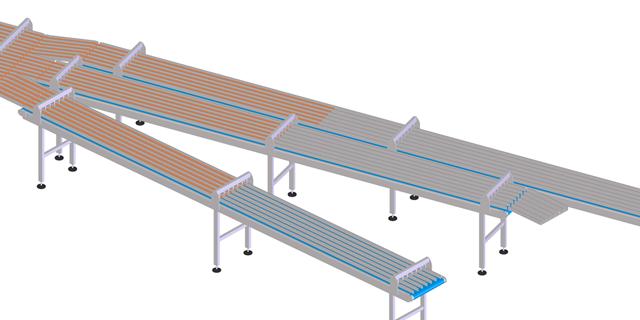 Equipment Packaging Belts produced by Ammeraal Beltech