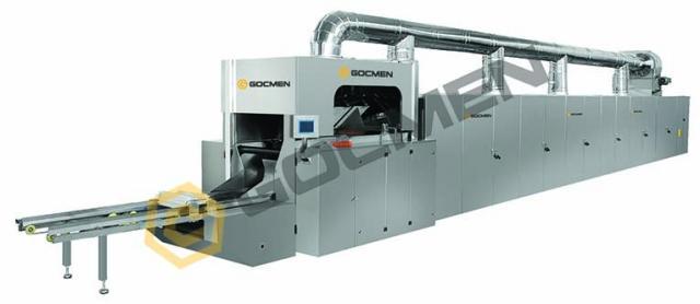 Equipment Wafer Baking Oven produced by Gocmen Machine Ind. ltd. Co.