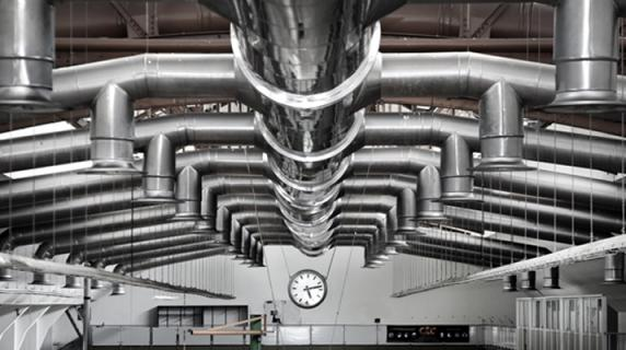 Definition of Air Ventilation Rates in Areas With Tunnel Ovens