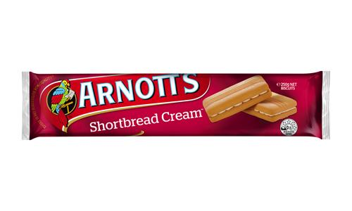 Arnott's Shortbread Cream