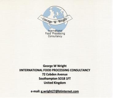 International Food Processing Consultancy Consulting from United Kingdom