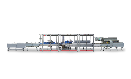 Equipment Flow wrapping and cartoning line for biscuits produced by IMA FLX HUB