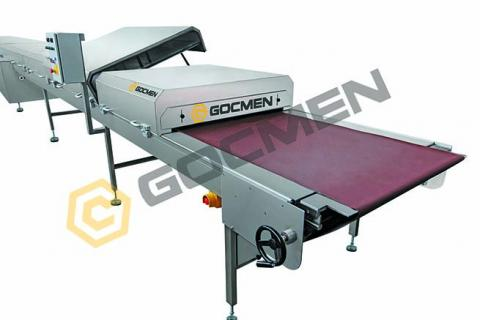 Equipment Chocolate Cooling Tunnel produced by Gocmen Machine Ind. ltd. Co.