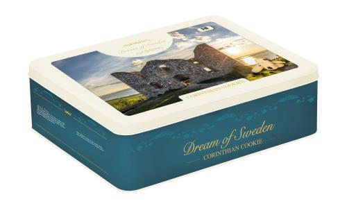 """Biscuits Corinthian Cookies """"Brahehus Edition"""" produced by Dream of Sweden Swedish Cookies"""