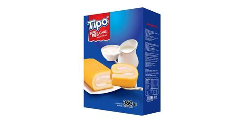 Tipo Mini Roll Cake Milk