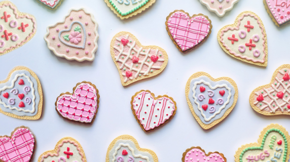 Love Goes Through the Stomach: Surprise Cookies for Valentine's Day