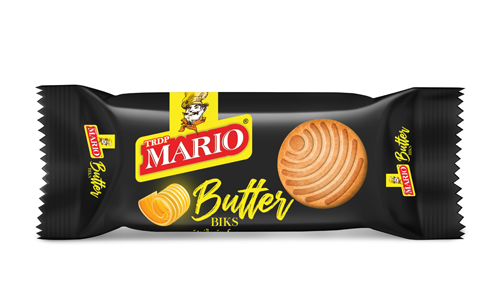 Biscuits Butter Biks produced by TRDP Mario