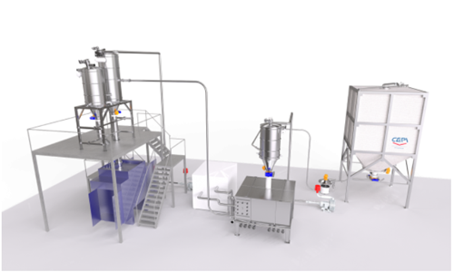 Flour cooling system