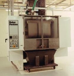 Baker Perkins high speed horizontal mixer
