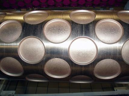 ENGRAVED BRONZE MOULDING ROLL – PLAIN FINISH