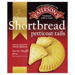 Paterson's Shortbread Petticoat Tails 250 g