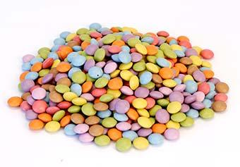 8 colour Mini Chocolate Beans