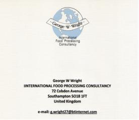 International Food Processing Consultancy Consulting from United Kingdom logo